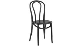 Image of a Black Bentwood Chairs