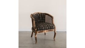 Image of a Barbados Mudcloth Chair