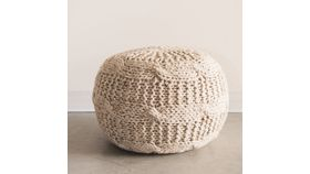 Image of a Cambria Knit Poufs