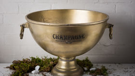 Image of a BRASS CHAMPAGNE TUB