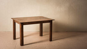 Image of a 4'X3' CHESTNUT TABLE