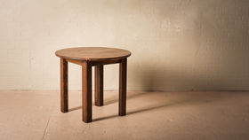 """Image of a 36"""" ROUND CHESTNUT TABLE"""