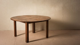 """Image of a 60"""" ROUND CHESTNUT TABLE"""