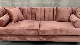Image of a Lisbon Blush Sofa