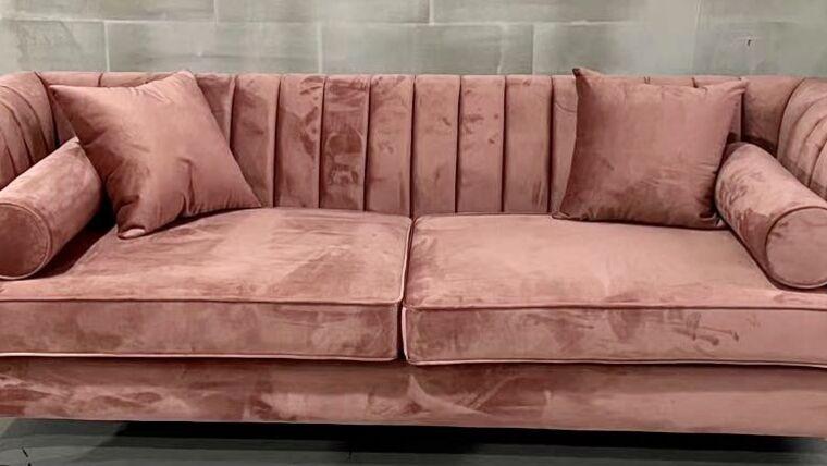 Picture of a Lisbon Blush Sofa