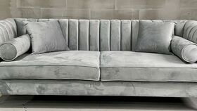 Image of a Lisbon Gray Sofa
