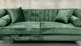 Image of a Lisbon Emerald Sofa