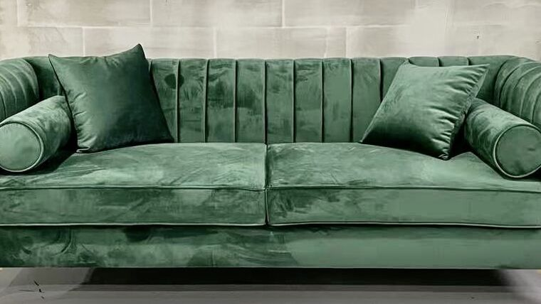Picture of a Lisbon Emerald Sofa