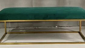Image of a Lainey Emerald Bench