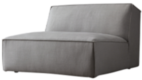 Image of a Tully Sectional ARMLESS