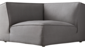 Image of a Tully Sectional CORNER