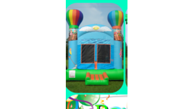 Image of a Balloon Adventure Bounce House