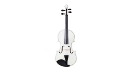 Image of a White Violin