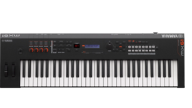 Image of a Yamaha MX61 61 Key Music Production Synthesizer w/ Stand
