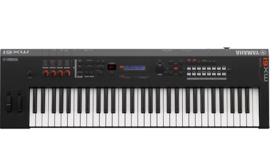 Image of a Yamaha MX61 61 Key Music Production Synthesizer w/ Stand