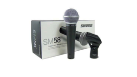 Image of a Microphone - Shure 58