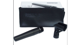 Image of a Microphone - Shure 57