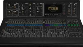 Image of a MIDAS M32 MIXING CONSOLE