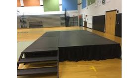Image of a 16'x12' Stage package