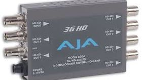 Image of a Aja 1 to 6 SDI Splitter