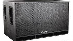 "Image of a Carvin Double 18"" Subs 1600 watts"