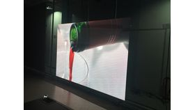 Image of a 7'x10' LED Video Wall