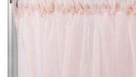 Image of a 10' x 10' Blush Sheer Drape