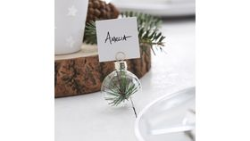 Image of a Mini Ornament Place Card Holder