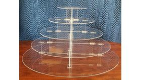 Image of a Belle 5 Tier Cupcake Stand