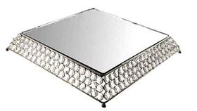 Image of a Bling Square Cake Stand