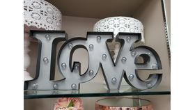 Image of a Love Marquee Sign
