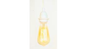 Image of a Hanging light socket