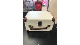 Image of a Suit Case Card Holder Box