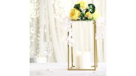 "16"" Gold Flower Stands image"