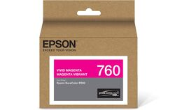 Image of a Epson T760 Vivid Magenta Ultrachrome HD Ink Cartridge