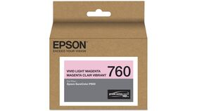 Image of a Epson T760 Vivid Light Magenta Ultrachrome HD Ink Cartridge