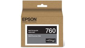Image of a Epson T760 Matte Black Ultrachrome HD Ink Cartridge