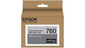 Image of a Epson T760 Light Light Black Ultrachrome HD Ink Cartridge
