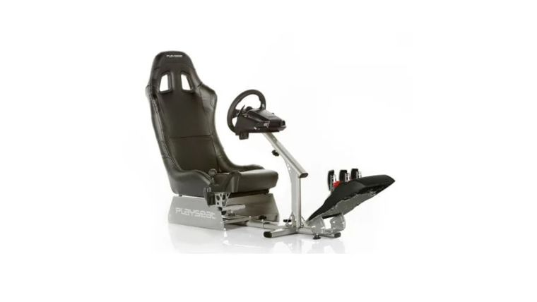 Picture of a Racing Simulator