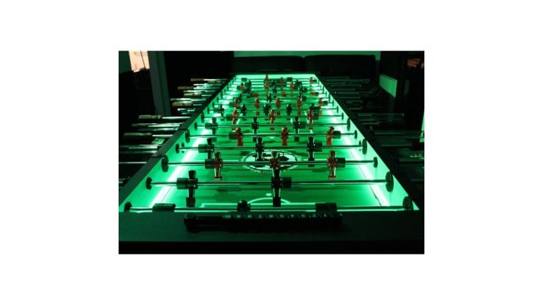 Picture of a 8 Player Foosball Table