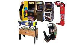 Image of a Classic Arcade Party Package