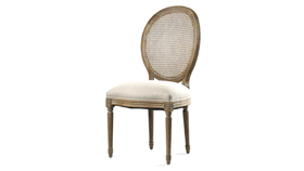 Image of a Abigail Dining Chair Beige