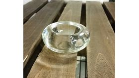 "Image of a 3"" x 1"" Doughnut Tealight Holder"