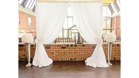 Image of a Ceremony Backdrop