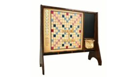 Image of a Giant Scrabble Game