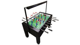 Image of a Blacklight Foosball Table