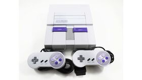 Image of a Super Nintendo Console