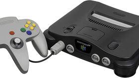 Image of a Nintendo 64 Console