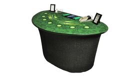 Image of a Blackjack Table - Deluxe
