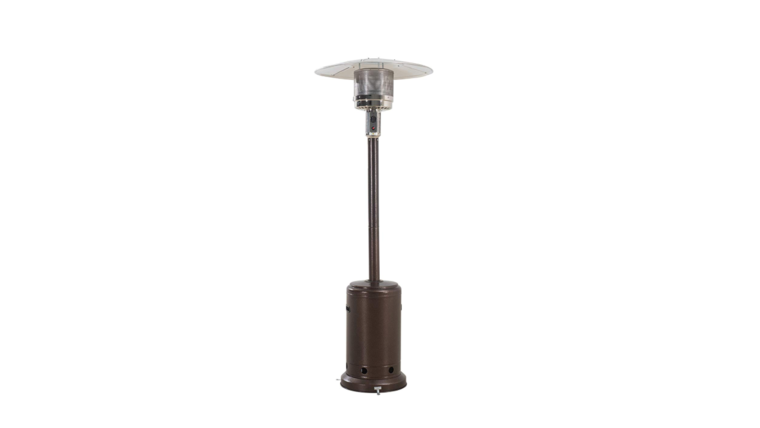 Picture of a Bronze Portable Heater 88 inch